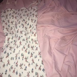 Forever 21 Dresses - Tight white flower print dress